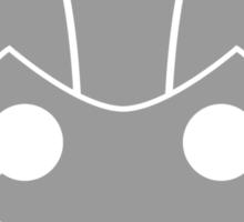 Geek Shirt #1 Cyberman Grey Sticker