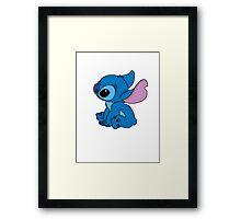 Very cute Stitch Framed Print