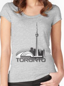 Toronto Women's Fitted Scoop T-Shirt