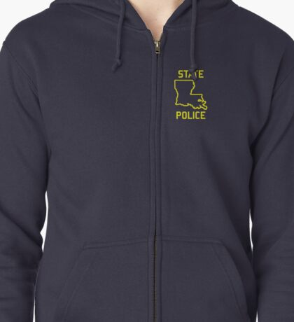 True Detective - Louisiana State Police Zipped Hoodie