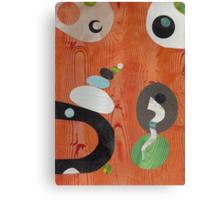 Rusty Wood Grain Style Canvas Print