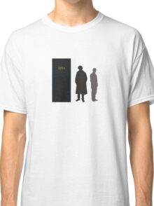 Sherlock Holmes and Dr. Watson Classic T-Shirt