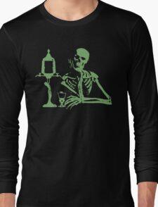 Absinthe Skeleton v2 Long Sleeve T-Shirt