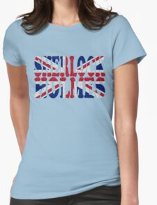 Sherlock Holmes Jack Womens Fitted T-Shirt