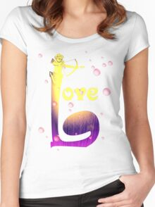 Love2 Women's Fitted Scoop T-Shirt