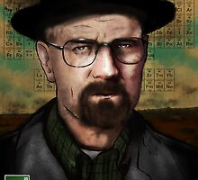 Breaking Bad - Walter White  by LiamShawberry