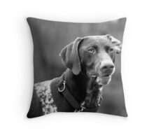 Bertrait Throw Pillow