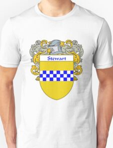 Stewart Coat of Arms / Stewart Family Crest T-Shirt