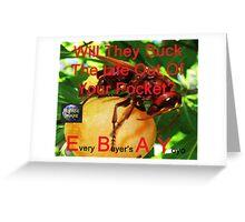 Every Buyer's A Yoyo 35 Greeting Card