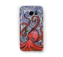 Octopus and Swirls Samsung Galaxy Case/Skin