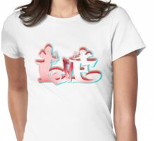 Love7 Womens Fitted T-Shirt