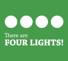 There are FOUR LIGHTS! (White Ink) Kids Clothes