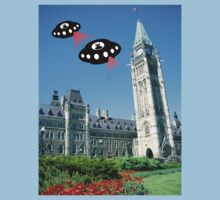Aliens invade Ottawa, Canada by funkyworm