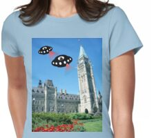 Aliens invade Ottawa, Canada Womens Fitted T-Shirt