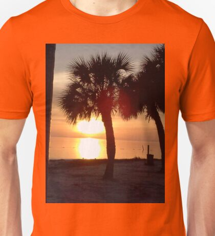 Sunset over the Gulf of Mexico, FL Unisex T-Shirt