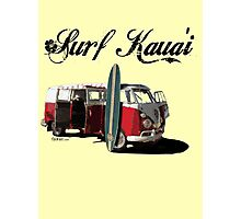 Surf Kaua'i Photographic Print