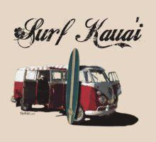 Surf Kaua'i by Laura Toth