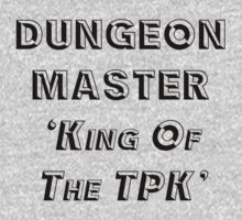 Dungeon Master 'King of the TPK' (black) by Marjuned
