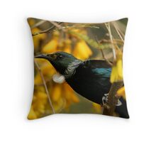 Tui - New Zeland is home Throw Pillow