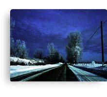 Sky Blue ! Canvas Print