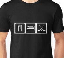 Eat, Sleep, Ice Hockey Unisex T-Shirt