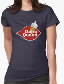 DAIRY QUEEN Womens Fitted T-Shirt
