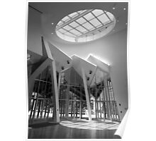 Interior view of  the Ray and Maria Stata Center  Poster