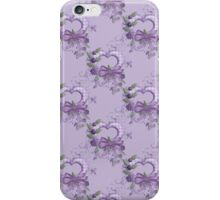 Lilac Hearts .. iphone case iPhone Case/Skin