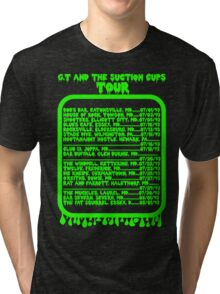 GT and the Suction Cups Tour Tri-blend T-Shirt