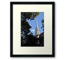 Boston 2 Framed Print