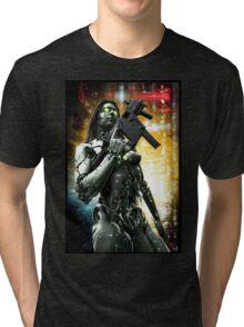 Cyberpunk T-shirt 046 Tri-blend T-Shirt