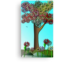 Spring Colours Canvas Print