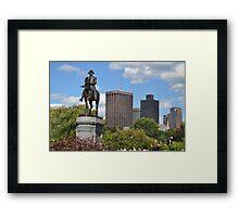 Boston 5 Framed Print