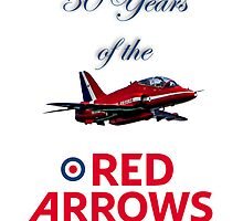50 years of the Red Arrows by Chris L Smith