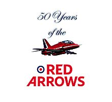 50 years of the Red Arrows Photographic Print