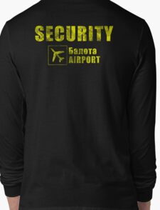 Balota Airport Security Long Sleeve T-Shirt