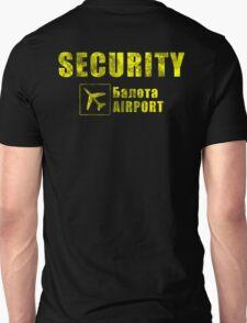 Balota Airport Security Unisex T-Shirt