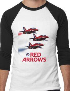 The Red Arrows reach 50 Men's Baseball ¾ T-Shirt