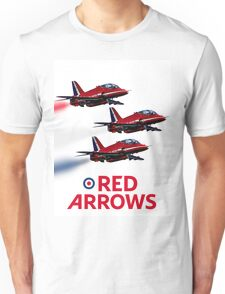 The Red Arrows reach 50 Unisex T-Shirt