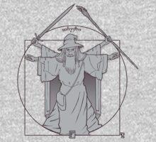 Vitruvian Wizard by kgullholmen