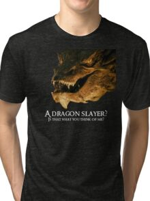A dragon slayer? Tri-blend T-Shirt