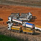 Trucks at Hyria by Nira Dabush