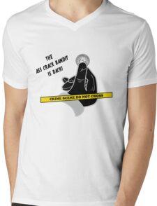 Ass Crack Bandit Mens V-Neck T-Shirt