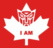 I AM!  Canadian Autobot by Crasharoo