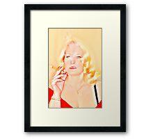 Elegant Madam Framed Print