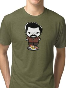 Hello Bacon and Eggs Tri-blend T-Shirt