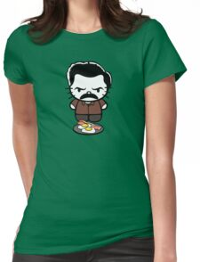 Hello Bacon and Eggs Womens Fitted T-Shirt