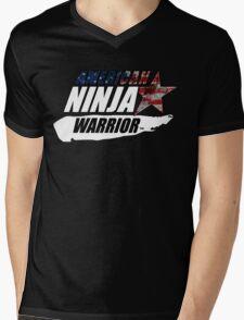 AMERICAN NINJA WARRIOR USA BOXING MOVIE Mens V-Neck T-Shirt