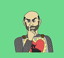 Stannis the Nose-Picker by serjaybird