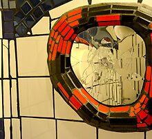 Broken mirror by Arie Koene
